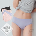 【GIAT】碘紗抗菌萊卡無痕美臀褲(低腰款)
