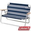 Coleman CM-31287 輕鬆折疊長椅/雙人休閒椅 情人折合椅/野餐露營椅/低腳椅