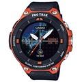 修長的表卡西歐手錶智能戶外表Smart Outdoor Watch初期萊克斯市場CASIO PRO TREK Smart鐘表人表WSD-F20-RG Sweet tea time