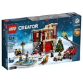 【ToyDreams】LEGO樂高 10263 冬季消防局 Winter Village Fire Station