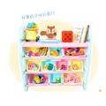 WOOHOO兒童玩具收納[二手]WOOHOO兒童玩具收納櫃-四層寬(藍側板)
