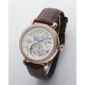 Manlike極致奢華新藝術鏤雕陀飛輪腕錶