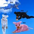 萬聖節造型服裝小豬演出服裝 兒童舞蹈表演服 幼兒粉豬卡通動物服 快樂小豬服裝