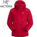 Arcteryx 始祖鳥 Atom AR Hoody 連帽化纖保暖外套/防潑水滑雪外套/雪衣/登山 女14664 石榴紅