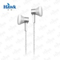 【Hawk】K211 金屬平耳式耳機麥克風