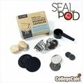 [學院咖啡] SealPod 不鏽鋼咖啡膠囊 (2入) 環保 重複使用 / 支援 Dolce Gusto 指定系列