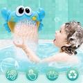 【洗澡玩具】 藍色 音樂螃蟹泡泡 螃蟹泡泡機 泡泡螃蟹 洗澡泡泡機