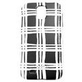 COACH 雙色格紋 Samsung S4 手機保護殼(黑白)