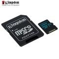 金士頓 128G Kingston Canvas Go! microSD UHS-I Class 3 U3  高速記憶卡