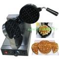 [廠商直銷] 電熱或瓦斯款 加厚款2CM-3CM 台灣110V電壓 商用厚片鬆餅機 鬆餅爐 鬆餅烤爐(厚片圓款方格)