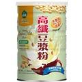 薌園 高纖豆漿粉 500g/罐 非基因改造黃豆 添加高纖配方