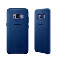 SAMSUNG Galaxy S8 原廠Alcantara 麂皮背蓋 ( 藍)