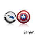 【InfoThink】IHERO美國隊長IPHONE雙頭隨身碟