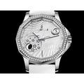 CORUM 崑崙 海軍上將 神秘月相 白色貝殼面盤 原鑲鑽錶 UZ3178