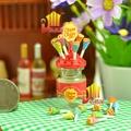 迷你小屋配件【棒棒糖+糖罐】珍珠棒模型MiniZakka拍攝道具糖果屋#649