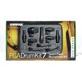 立昇樂器 SHURE PGADrumKit7 爵士鼓組收音麥克風 鼓 麥克風 7支套裝組 公司貨