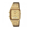 CASIO | นาฬิกาข้อมือผู้หญิง รุ่น CASIO AQ-230GA