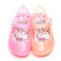 童鞋城堡-Hello Kitty中童馬卡龍果凍公主鞋814683