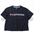 【二手】日本帶回 Converse 電繡 女生 短版上衣