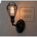 【光的魔法師Magic Light】Loft復古 小鐵籠壁燈