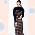 日本帶回 正品 redyazel 當季新款 格紋 洋裝sly snide