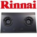 RINNAI RB-2GI 2-BURNER TEMPERED GLASS HOB