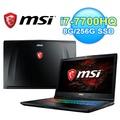 MSI 微星 GP72MVR 7RFX-674TW 17.3吋 雙碟電競筆電【三井3C】