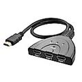 【SHOWHAN】HDMI 一對三分接器 HDMI 三進一出切換器