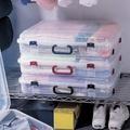 【樂樂生活精品】代購《真心良品》手提式附輪收納箱20L(3入) 免運費! (請看關於我)