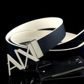 🇮🇹A/X專櫃正品🇮🇹全新AX專櫃購入正品Armani Exchange可翻轉雙面真皮雙色休閒百搭紳士皮帶 腰帶