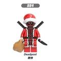 【積木班長】984 聖誕 死侍 聖誕死侍 X戰警 聖誕節 超級英雄 人偶 欣宏 袋裝/相容 樂高 LEGO 積木