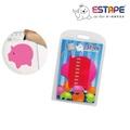 【ESTAPE】造型隨手卡(桃紅-豬)