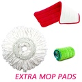 Extra mop pads for Spinning Mop / Spray Mop / Boomjoy Spin Mop / Boomjoy Spray Mop for 360