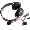 HKS Gaming Headset With Microphone Mic For Xbox 360 Xbox360 Gaming Live Black(Export)