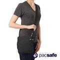 【澳洲Pacsafe】RFID安全防盜錄休閒側背包- 黑