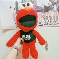 Elmo 芝麻街 餅乾怪獸 娃娃 玩偶 周邊 可愛 衣服 毛茸茸