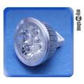 《新品嚐鮮》MR16 1W 4顆LED 燈泡 LED燈 節能燈 省電燈泡 12V適用 暖白光(78-1080)