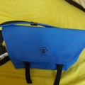 Pre owned CRUMPLER the miner upset royal blue bag( U.P  $99)
