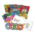 愛心園智慧圖書(中英雙語.全套12冊精裝繪本+4CD) 幼兒EQ行為智慧相關 整套賠售限量