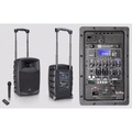 LD Systems Roadbuddy 10 Battery Powered-Bluetooth Speaker with Mixer & Wireless Microphone