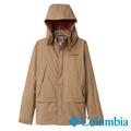 Columbia哥倫比亞-單件式防水外套-卡其綠色