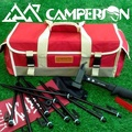 【CAMPERSON】1680D牛津布 野外萬用工具箱/營釘箱(紅)