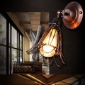 【光的魔法師 Magic Light】Loft復古 小鐵籠壁燈