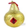 X射線【Z607002】紋金葫蘆,春節/過年佈置/擺飾/掛飾/吊飾/送禮/羊年