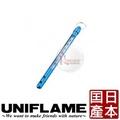 探險家戶外用品㊣681695 日本 UNIFLAME 鋁棒溫度計 (日本製) 室內外溫度計 水銀溫度計 露營 野炊