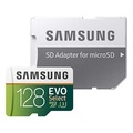 Samsung 128GB 100MB/s (U3) MicroSD EVO Select Memory Card with Adapter