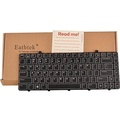 Eathtek Replacement Keyboard with Backlit for Dell Alienware M11x R2 R3 M11x-R2 M11x-R3 series Black US Layout, Compatible part number 0X9H3Y V109002DS1 PK130CW1A04 - intl