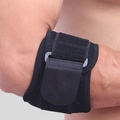 [Global]Elbow Guard Elbow Compression Guard Durable Black Composite Material Fitness Equipment Gym