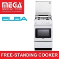 ELBA EGC536WH FREE-STANDING COOKER / 37L GAS OVEN