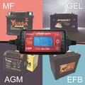 MT-600+充電器 雙電壓 適用6V 12V 脈衝式充電機 檢測機能 充電電池 LCD液晶顯示(MT600+)